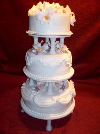 0491 svadobná na stojane